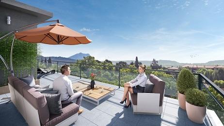 Villa Solana Aix en Provence vue