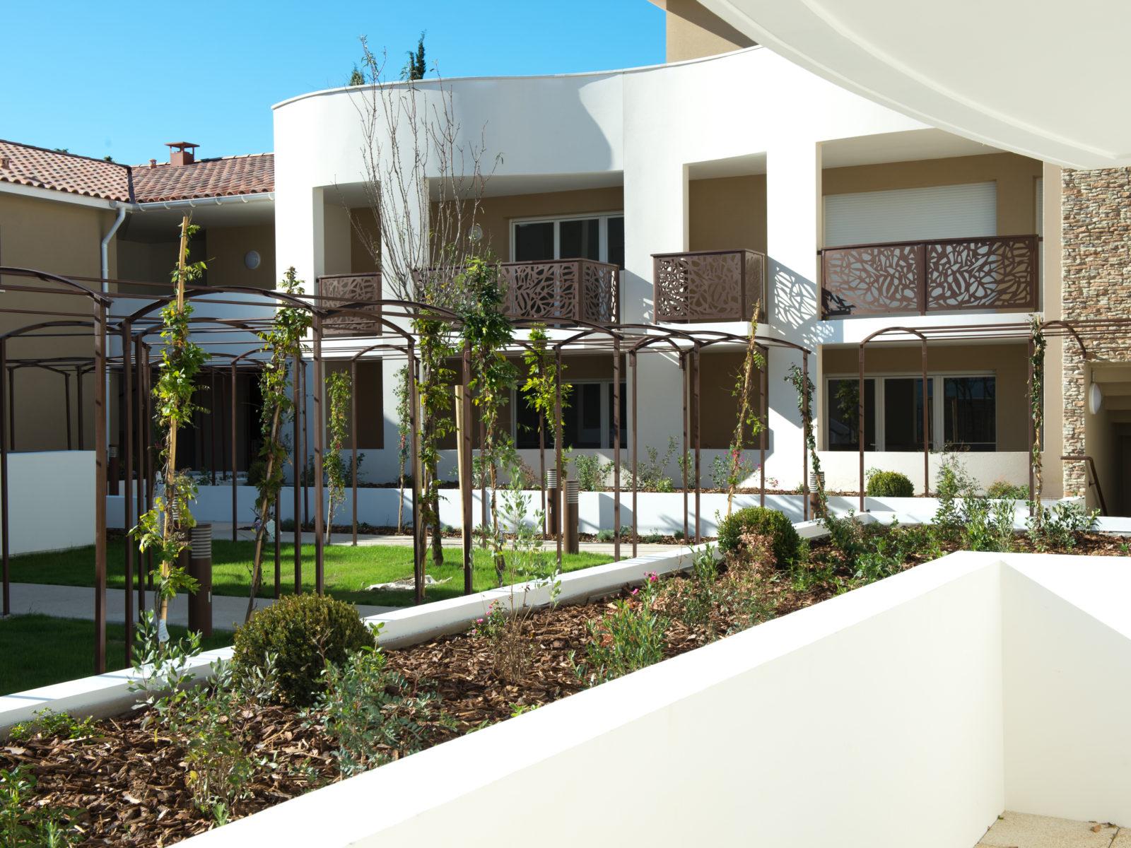 jardin résidence