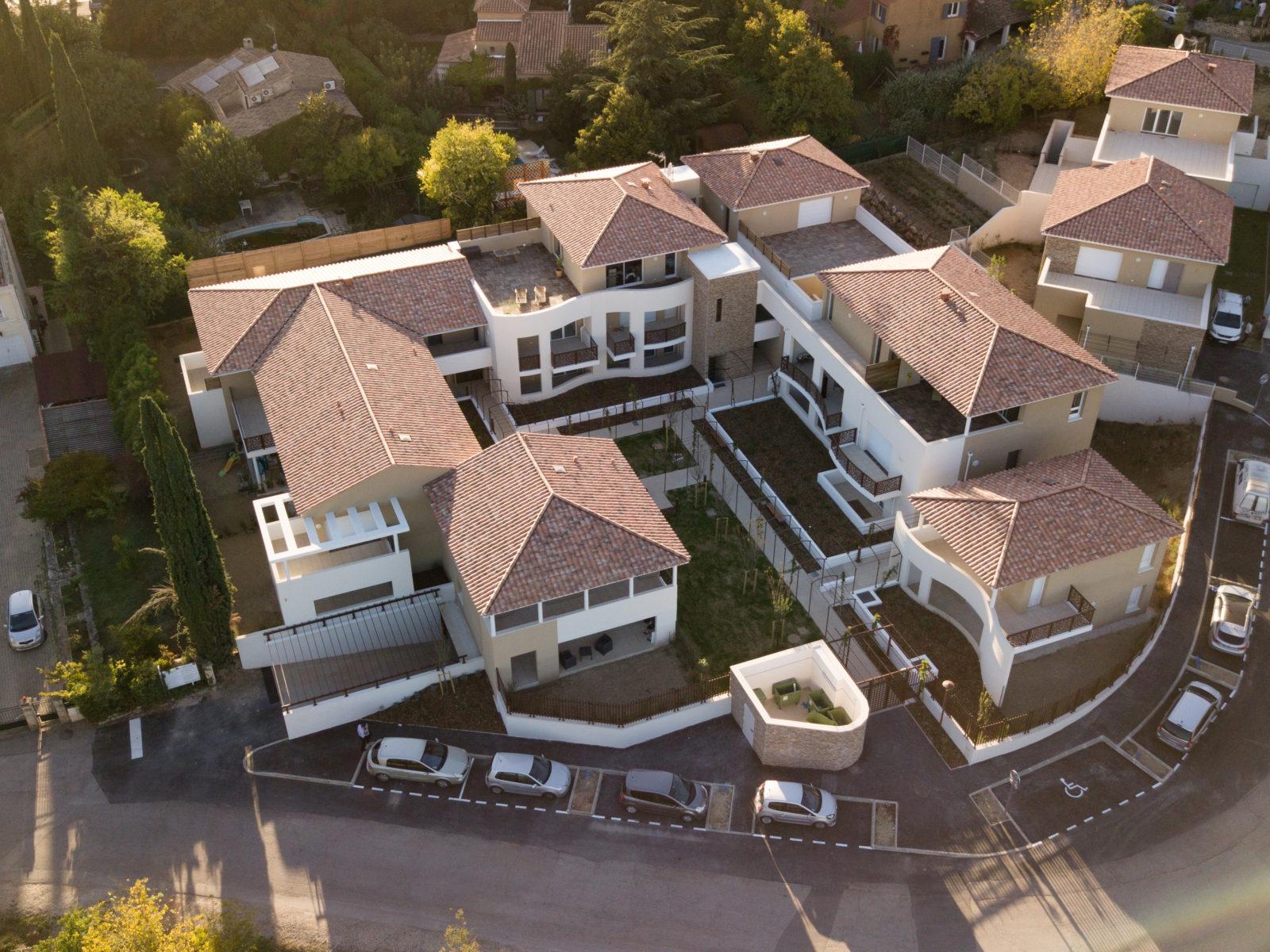 résidence vue de haut