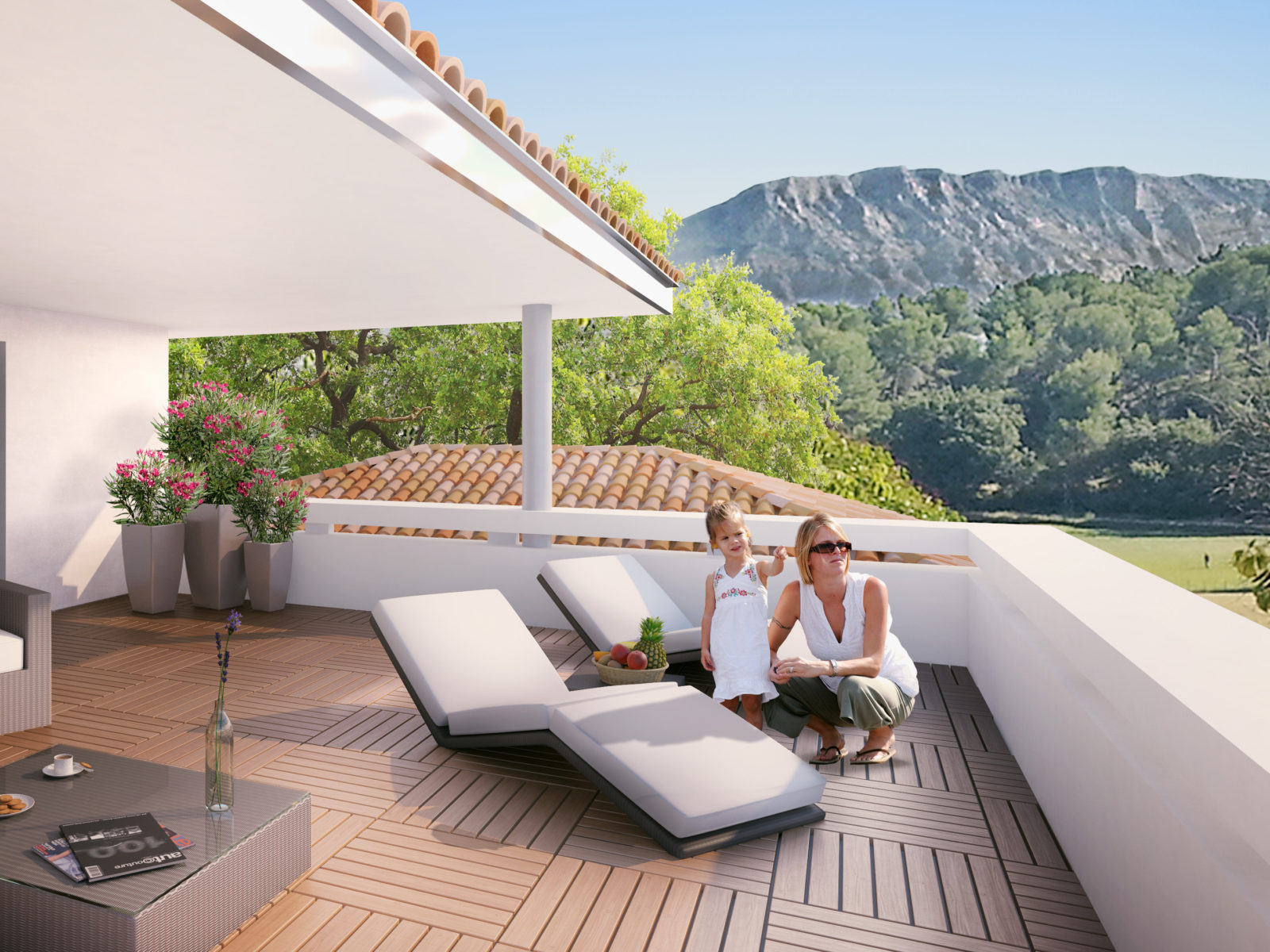 illustration terrasse