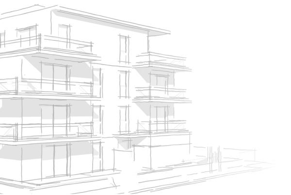 dessin immeuble architecte