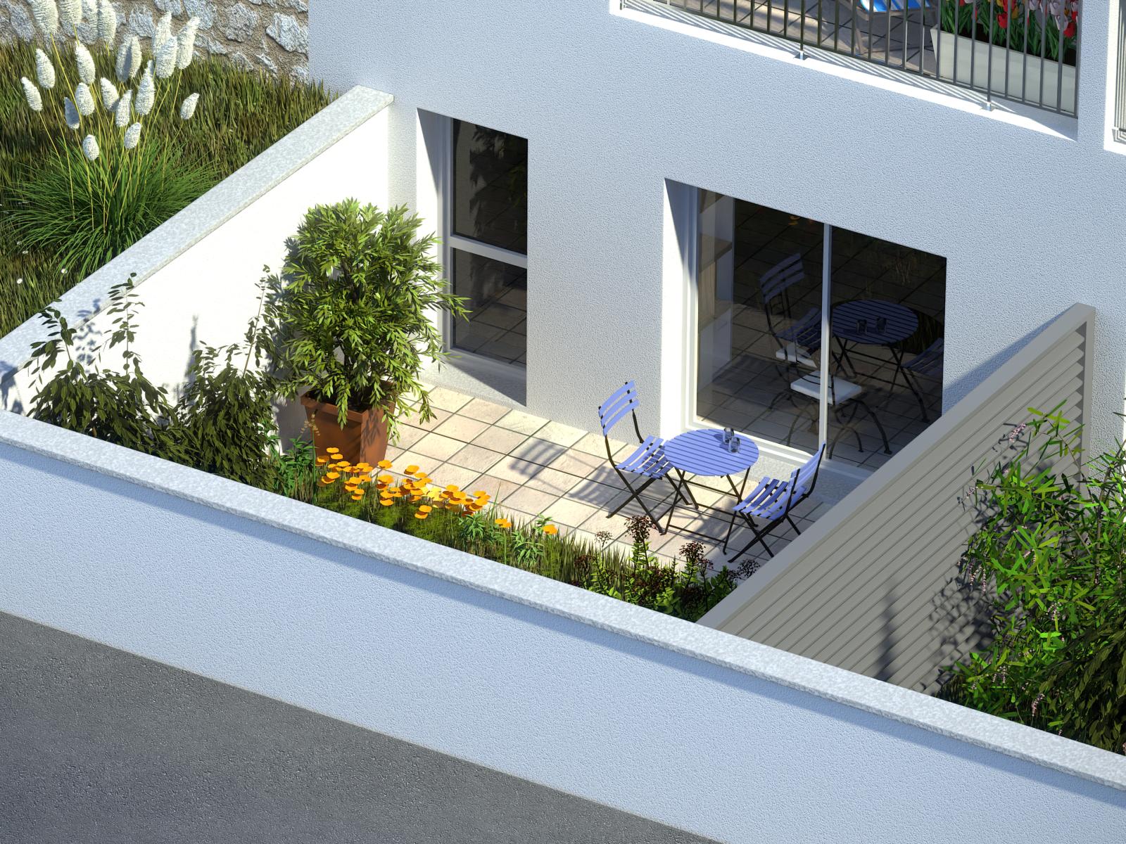 jardin résidence Ilonis