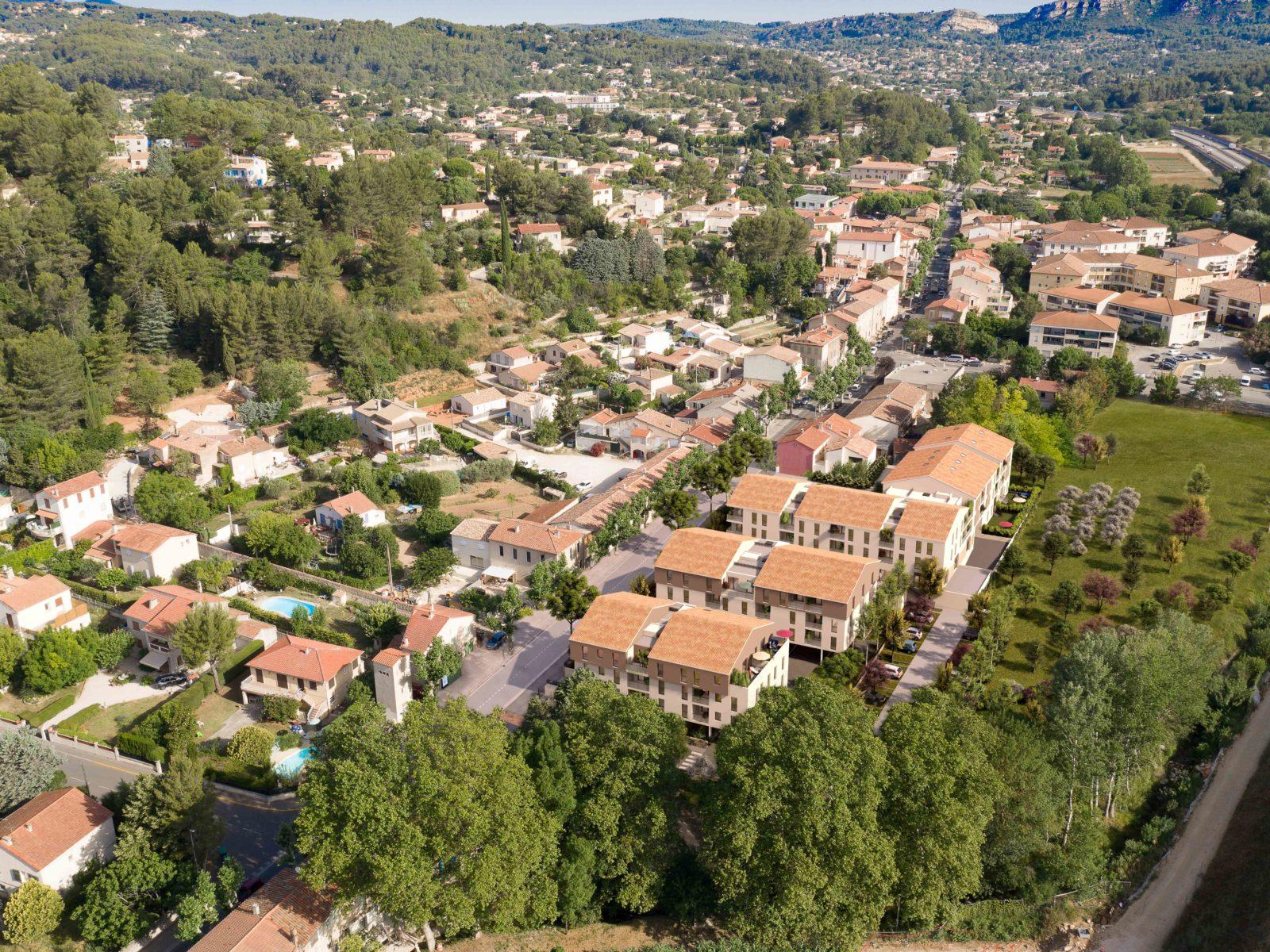 programme immobilier neuf La Destrousse