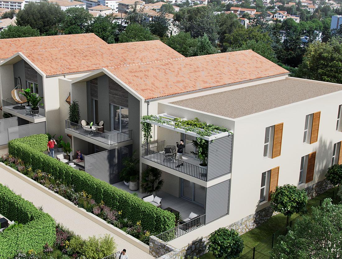programme immobilier neuf Aubagne extérieur