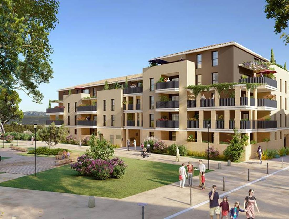 résidence Nouvel Horizon Aix la Duranne